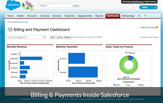 Automated Subscription and Recurring Billing App for Salesforce