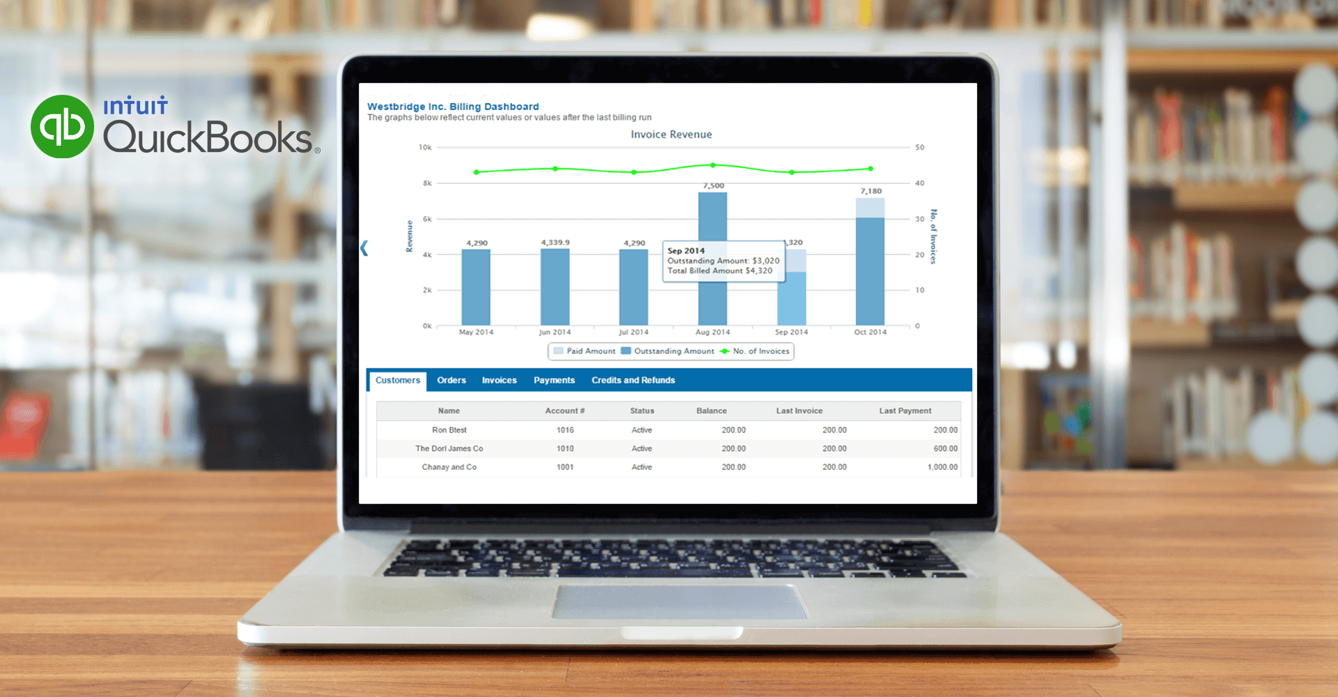 Subscription Billing for Quickbooks