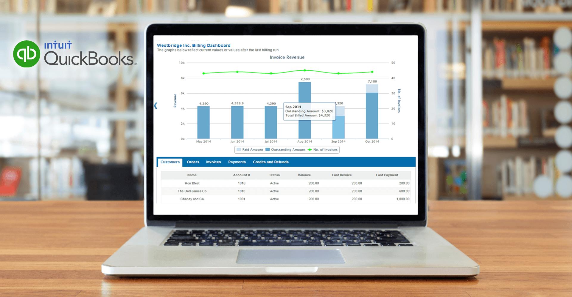 Subscription Billing for Quickbooks