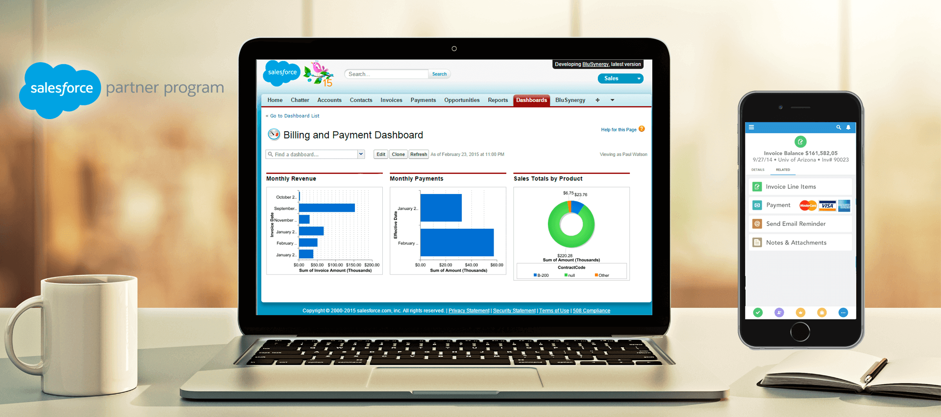subscription billing for salesforce