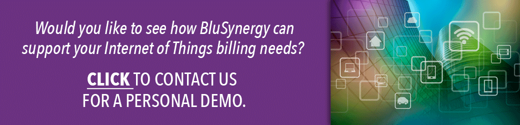IoT Billing - Contact Us for A Personal Demo