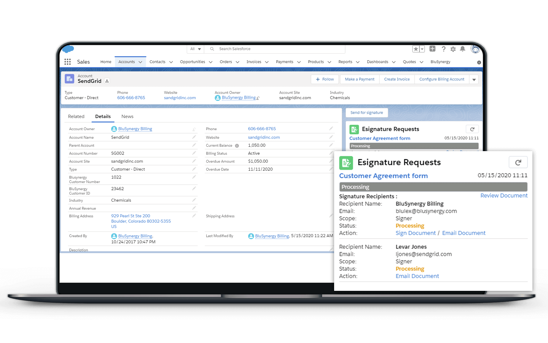 E-Signature for Salesforce App
