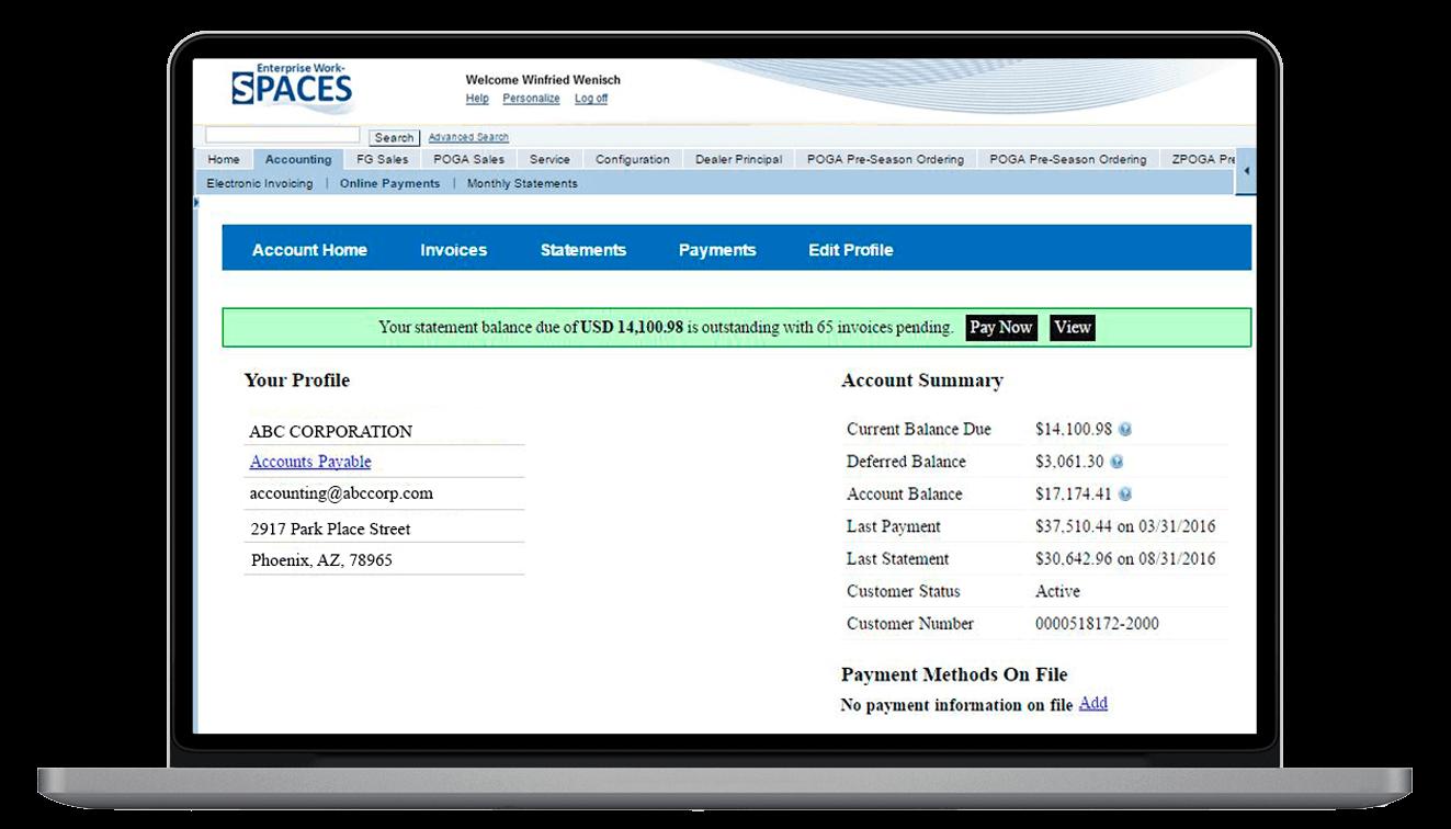 Enable Subscription Billing Management to SAP
