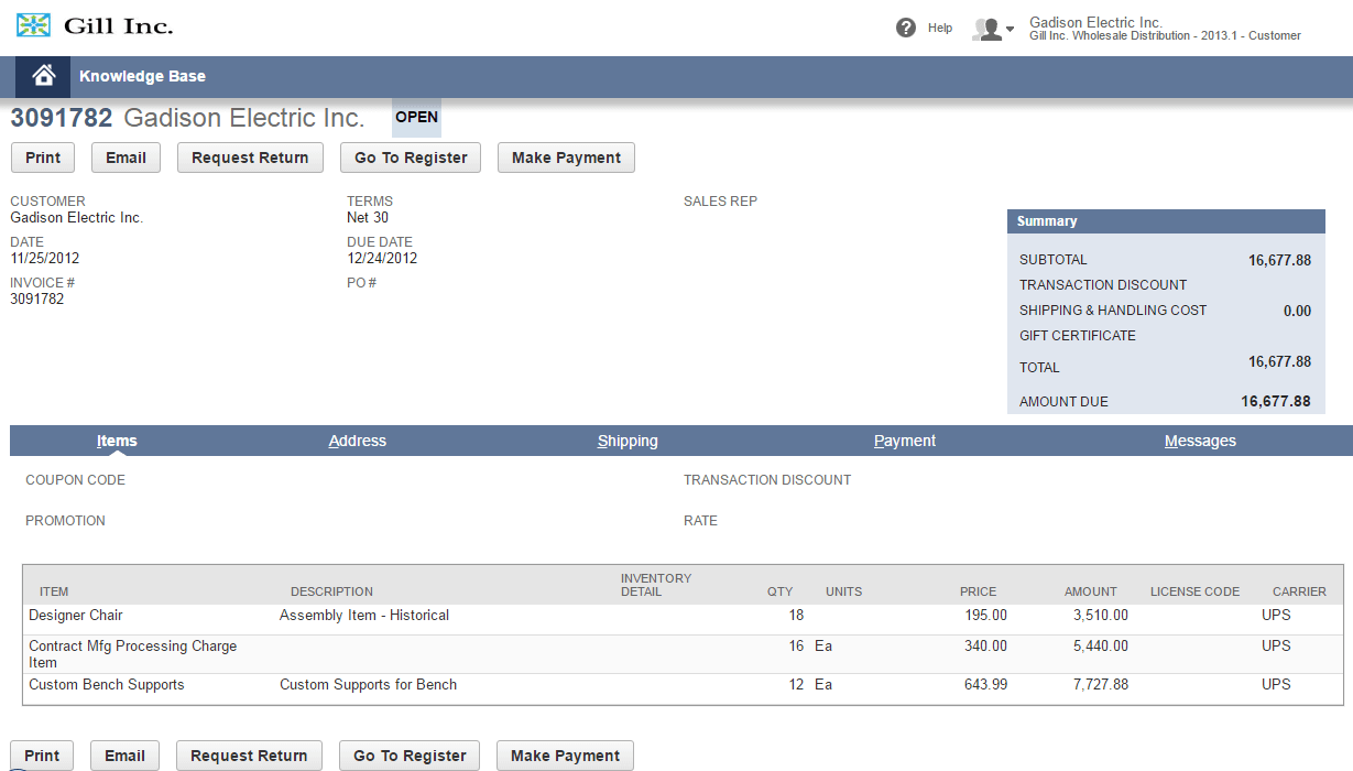 Enable Subscription Billing Management to NetSuite