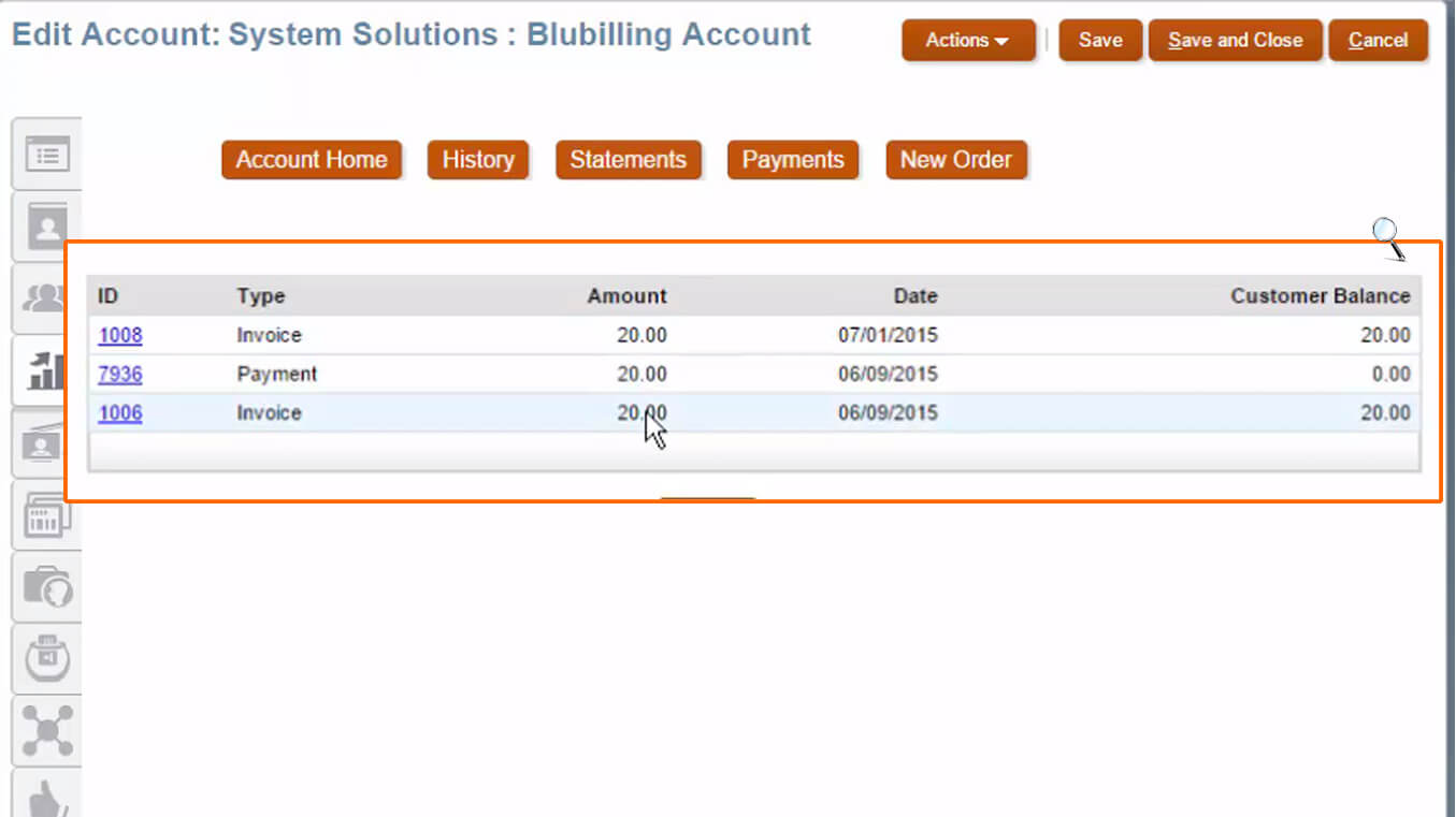 Enable Subscription Billing Management to Oracle